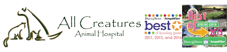 Logo for Veterinarians Bowling Green Kentucky | All Creatures Animal Hospital